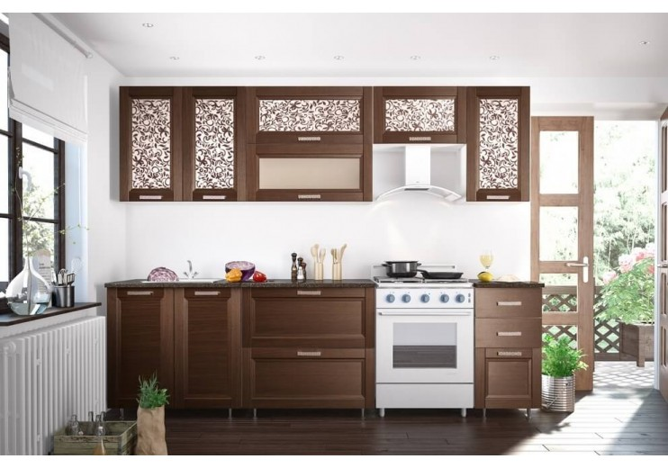 Кухня Селена №52 (2600х720/850х290/600)