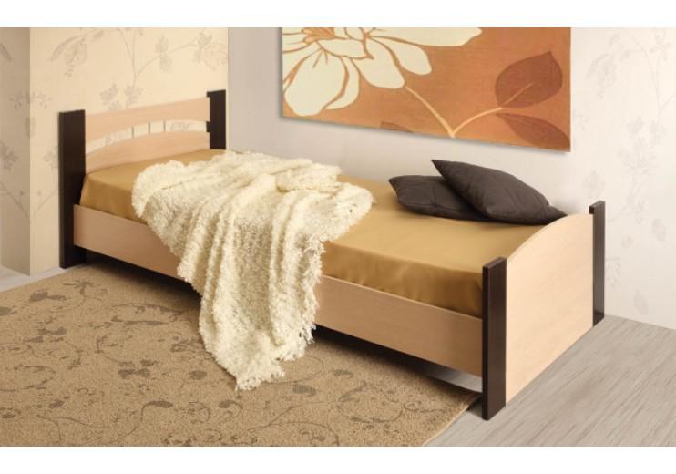 Кровать 900 с бескаркасным основанием без ящика (946х2064х880 мм) (СМ 900х2000 мм)