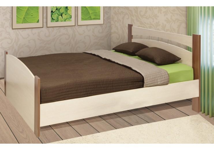 Кровать с бескаркасным основанием без ящика (ясень)