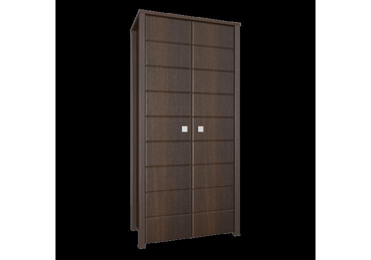 Модульная система Изабель Шкаф для одежды ИЗ-12 (Орех темный)