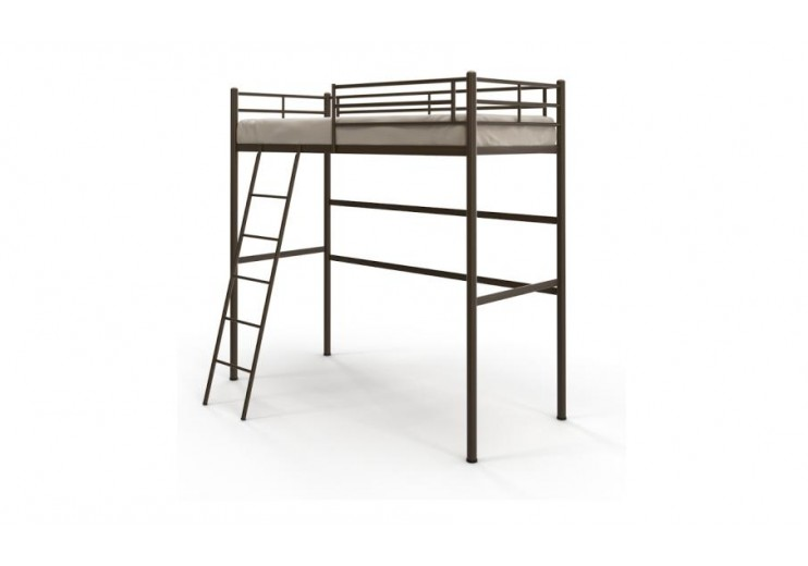 Кровать Чердак (ламельное основание)