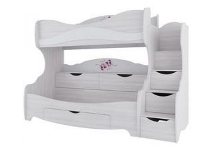 Кровать двухярусная Акварель 1
