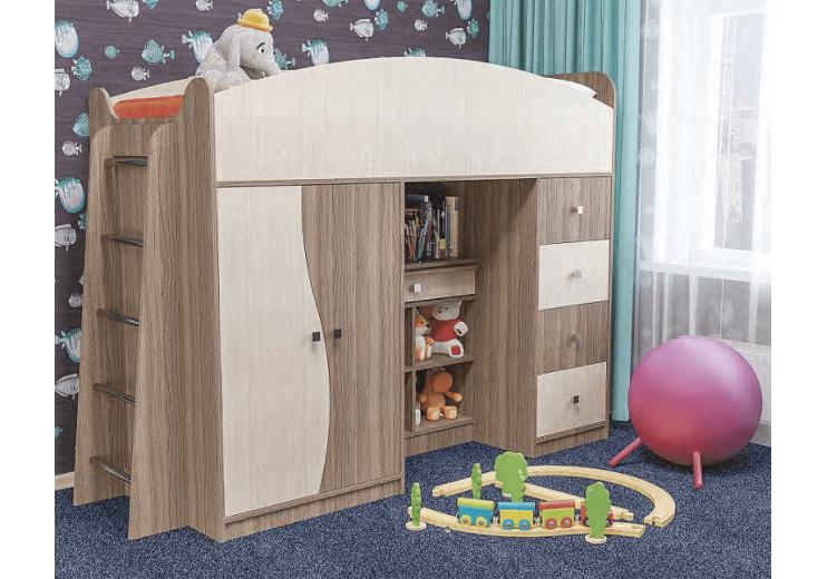 Кровать БЭМБИ с выдвижным столом