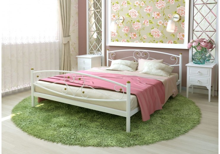 Кровать двуспальная Каролина PLUS