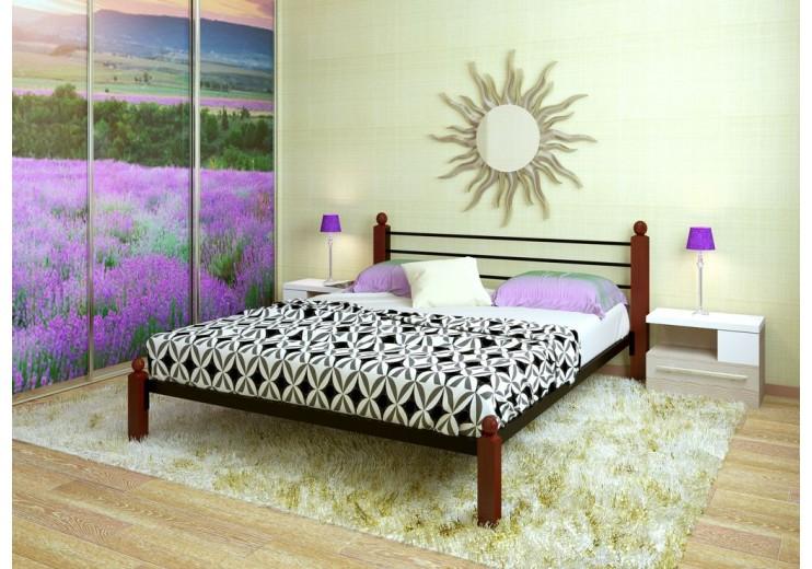 Кровать двуспальная Милана LUX