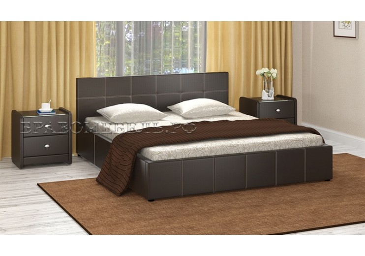 Кровать Герта с подъёмным механизмом и ящиком