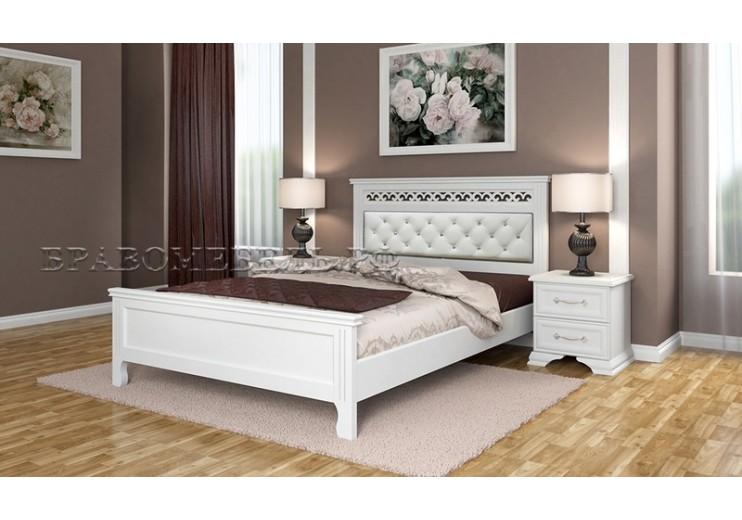 Кровать Грация БО (Белый античный)