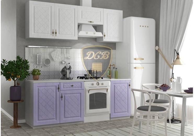 Кухня Гранд(фиалка/белый)