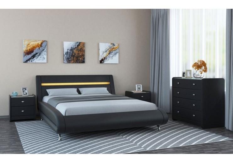 Кровать Тиффани с подъёмным механизмом и ящиком