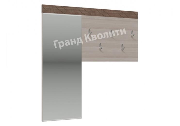 Зеркало с вешалкой прихожая Трио