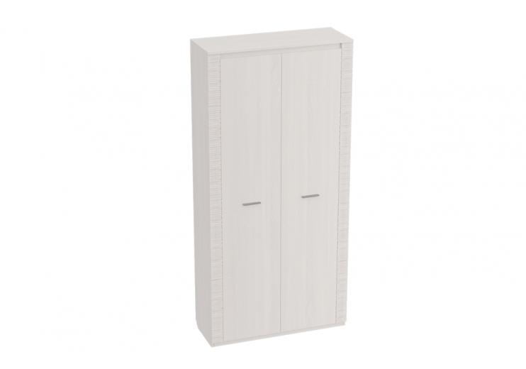 Гостиная Элана шкаф двухдвурный (Бодега белая)