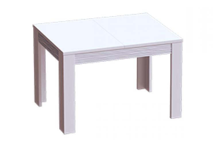 Гостиная Элана стол раздвижной (Бодега белая)