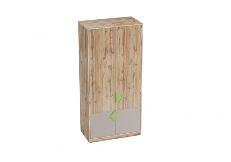 Детская Марио шкаф для одежды (Дуб Вотан)