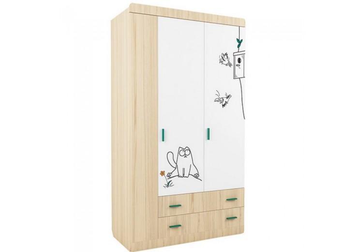 Детская Кот шкаф 3-х створчатый №25