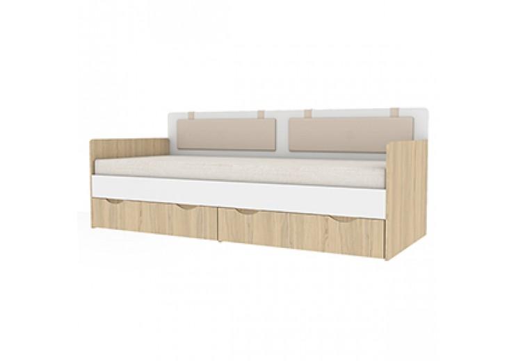 Детская кровать-тахта Кот 900.4 + комплект подушек