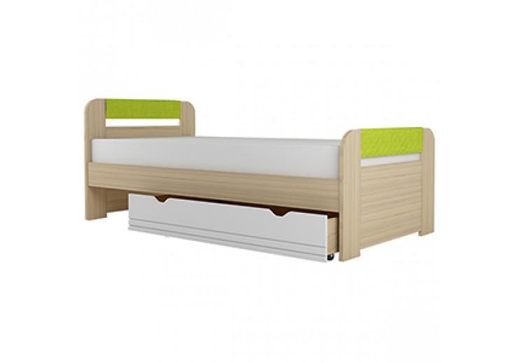 Детская кровать Стиль 900.3 (лайм)