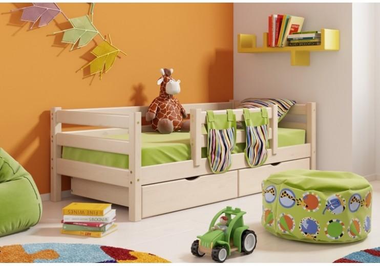 Детская кровать Соня Вариант 4 (возможна комплектация ящиками)