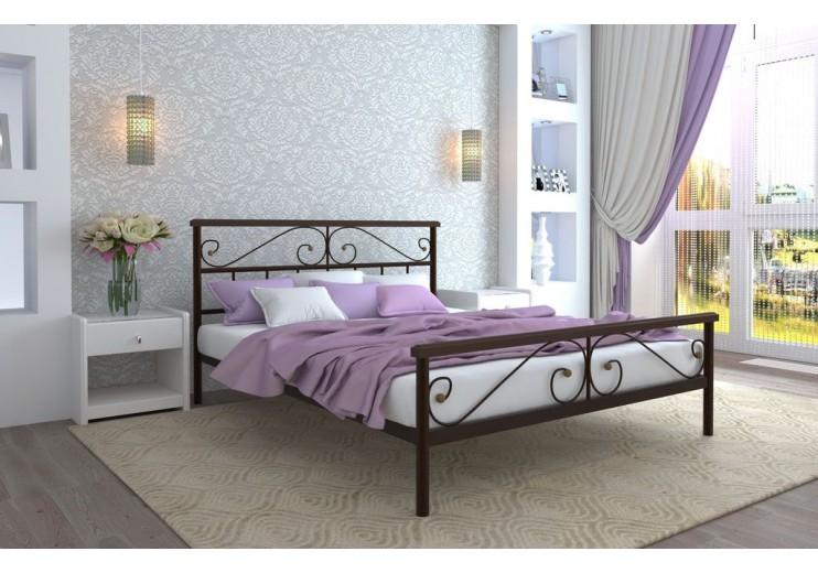 Кровать двуспальная Эсмеральда PLUS