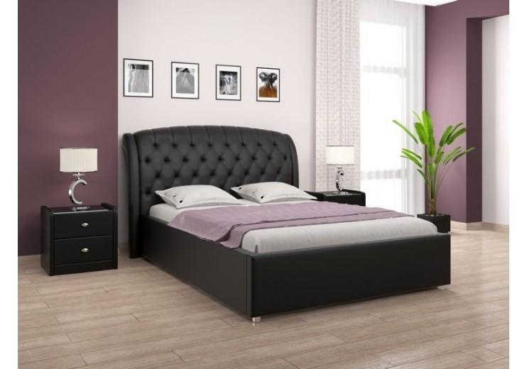Кровать Ева (экокожа)