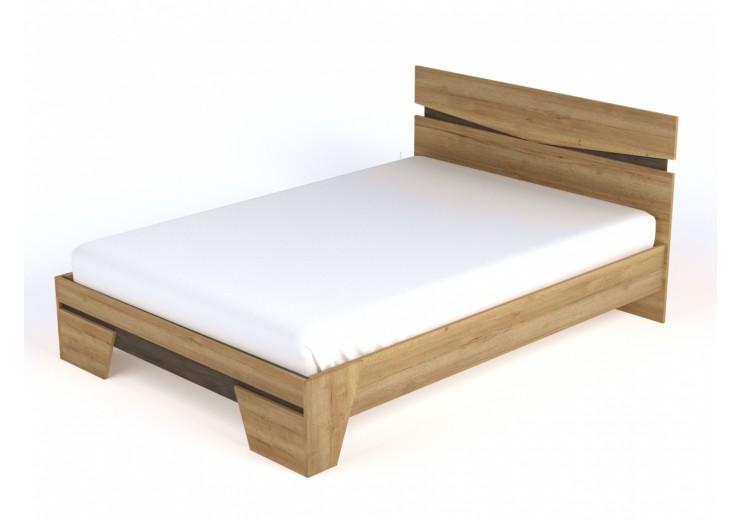 Кровать Стреза NEW (Галифакс натуральный)