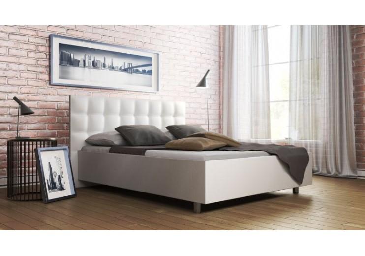 Кровать с мягким изголовьем Ornamo (Орнамо)