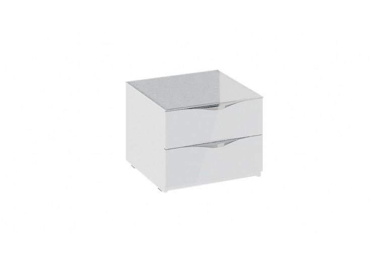 Тумба прикроватная с 2 ящиками Глосс ТД 319.03.01