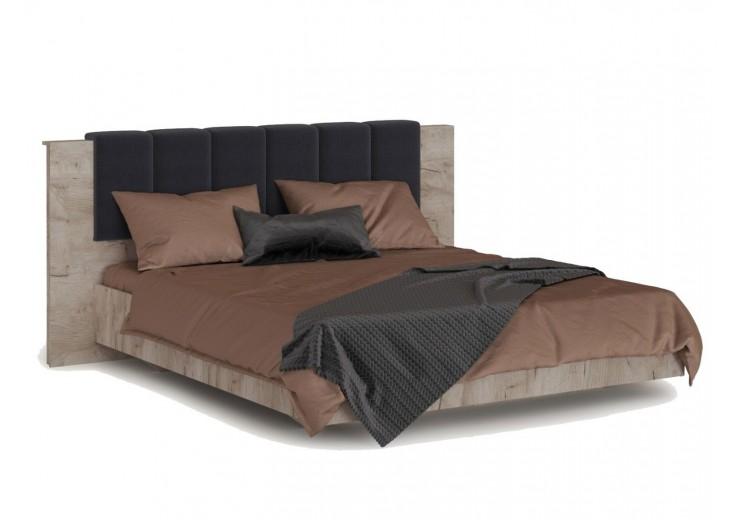 Кровать Джулия 160 МИ с подъемным механизмом Дуб крафт серый