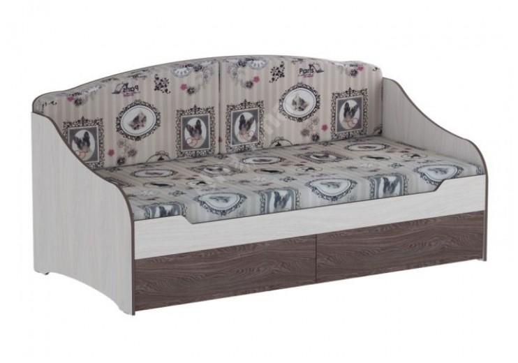 """Кровать одинарная """"Омега 18""""    с подушками"""