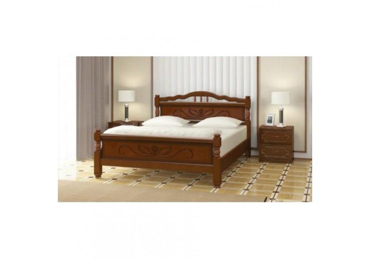 Кровать Карина-5 Лайт орех