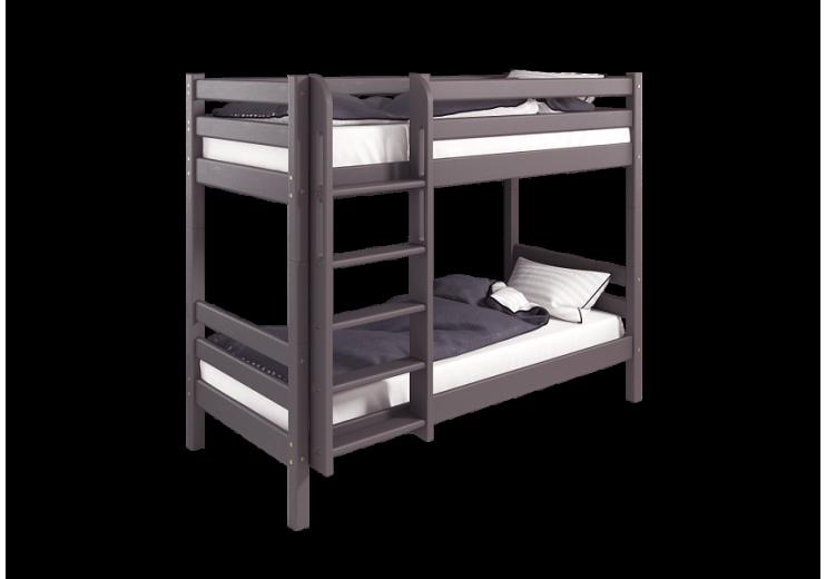 """Двухъярусная кровать """"Соня"""" с прямой лестницей (вариант 9)"""