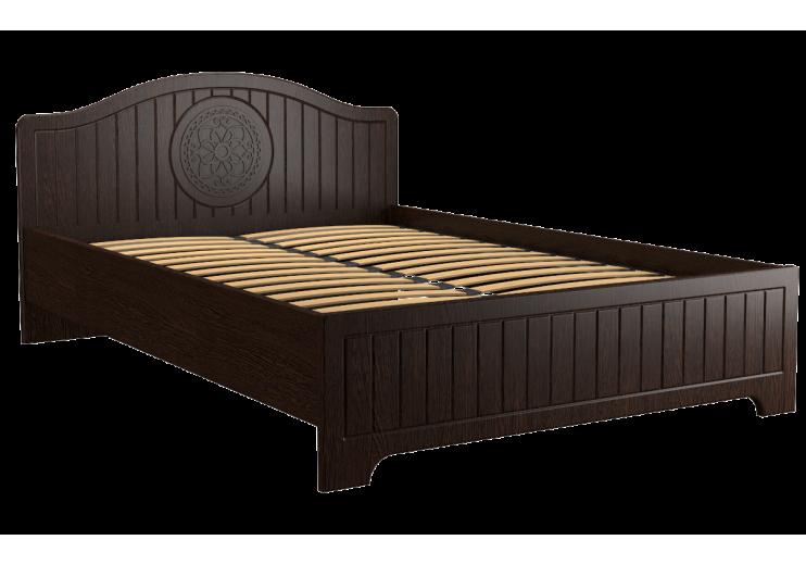 """Кровать """"Монблан"""" МБ-600К (без каркаса и опор) орех шоколадный"""