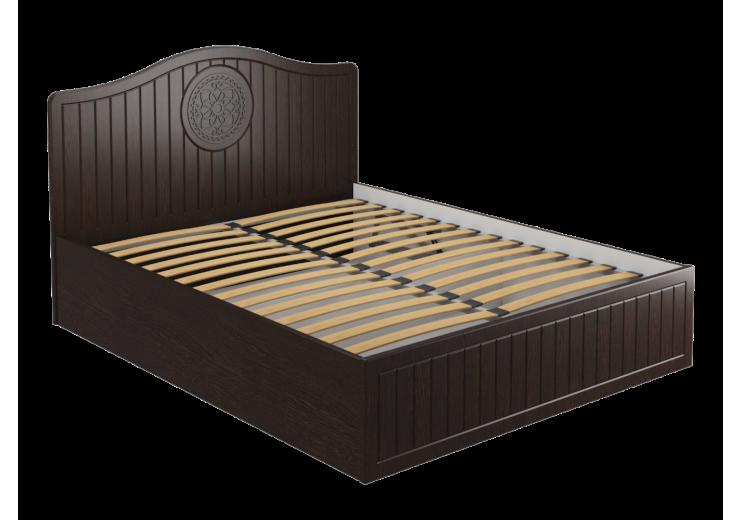 """Кровать """"Монблан"""" МБ-606К ( без каркаса и подъемного механизма) орех шоколадный"""